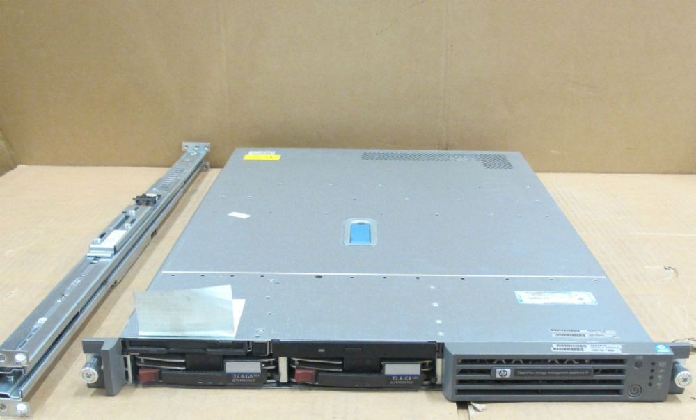 HP OpenView Storage Management Appliance III 2.4GHz XEON, 2 x 72Gb HD 189715-003